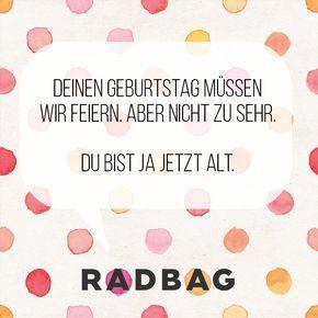 Geburtstagssprüche #birthday #quotes #birthdayquotes #geburtstagsspruch #witzige #sprüche #geburtstag #happy #birthday