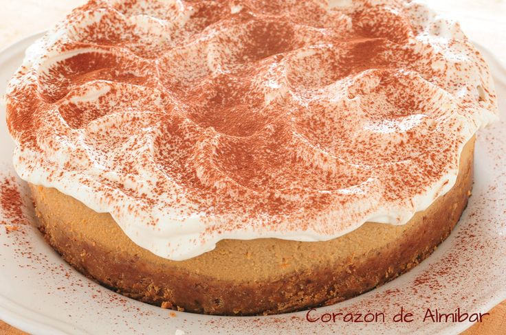 [Thermomix] Tarta de café capuchino o Tarta de queso y café
