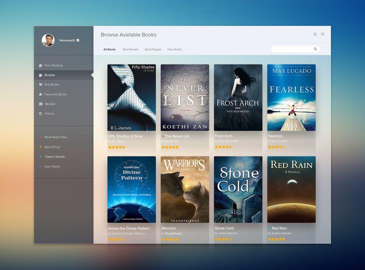 Bookshelf UI