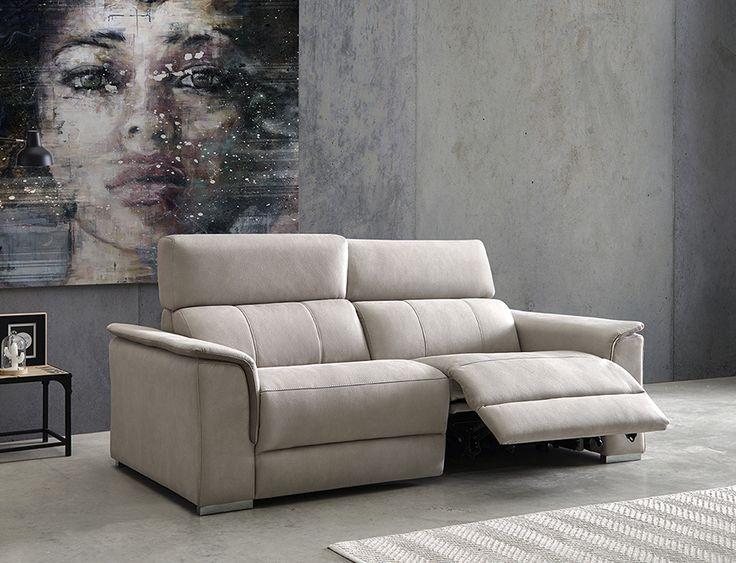 Sofá relax de 3 y 2 plazas modelo Ágora fabricado por Acomodel en Sofassinfin.es