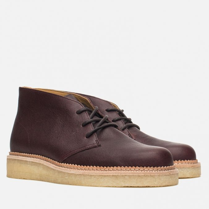 Мужские ботинки Clarks Originals Beckery Hill Wine Leather фото-1