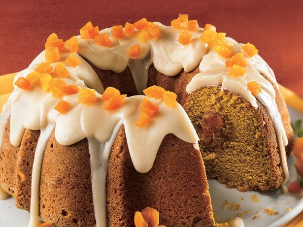 Apricot-Filled Pumpkin Cake with Browned Butter Frosting | Recipe