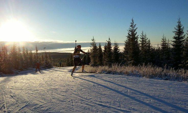 Biathlon-Sportlerinnen