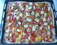 Šunková pizza 2