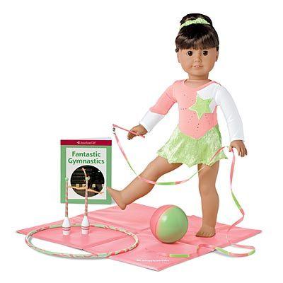 Rhythmic Gymnastics Set - American Girl Dolls Wiki