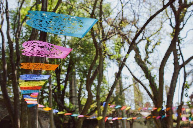 Gaaf! Laat je inspireren door deze kleurrijke Mexicaanse bruiloft Image: 5