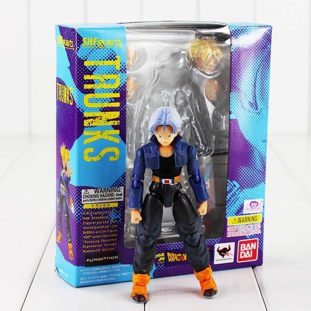 4Style Face Changable Dragon Ball Z SHFiguarts Son Goku Vegeta Trunks Super saiyan Son gokou PVC Action Figure Collectible Toy