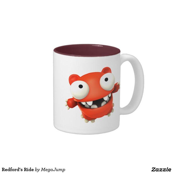 Redford's Ride Two-Tone Coffee Mug. Regalos, Gifts. #taza #mug