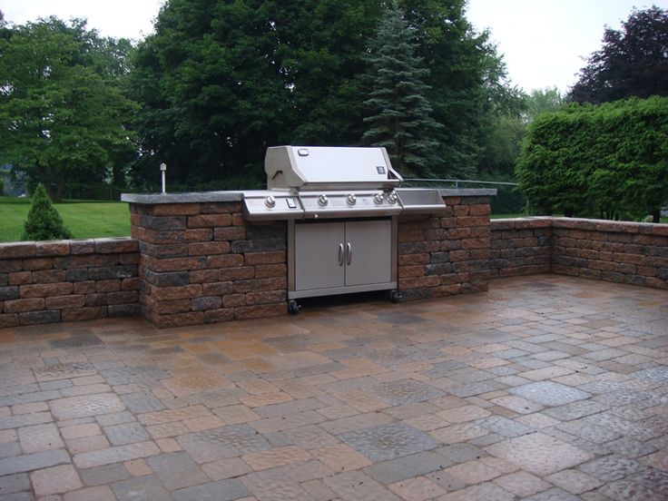 252 best outdoor cooking images on pinterest backyard for Outdoor kitchen gas grills