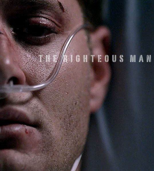 Supernatural's Dean Winchester, the righteous man / servant of Heaven