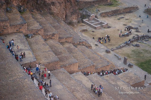 Terraces At Ollantaytambo Sacred Valley Peru Sacred Valley Ancient Mysteries Terrace