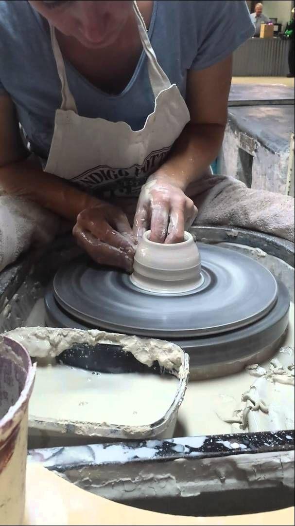 How to make a Vase with Clay - Bendigo Pottery