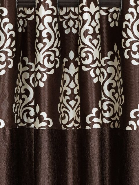 Buy Fashion String Set Of 2 Coffee Brown Window Curtains - Curtains And Sheers for Unisex | Myntra
