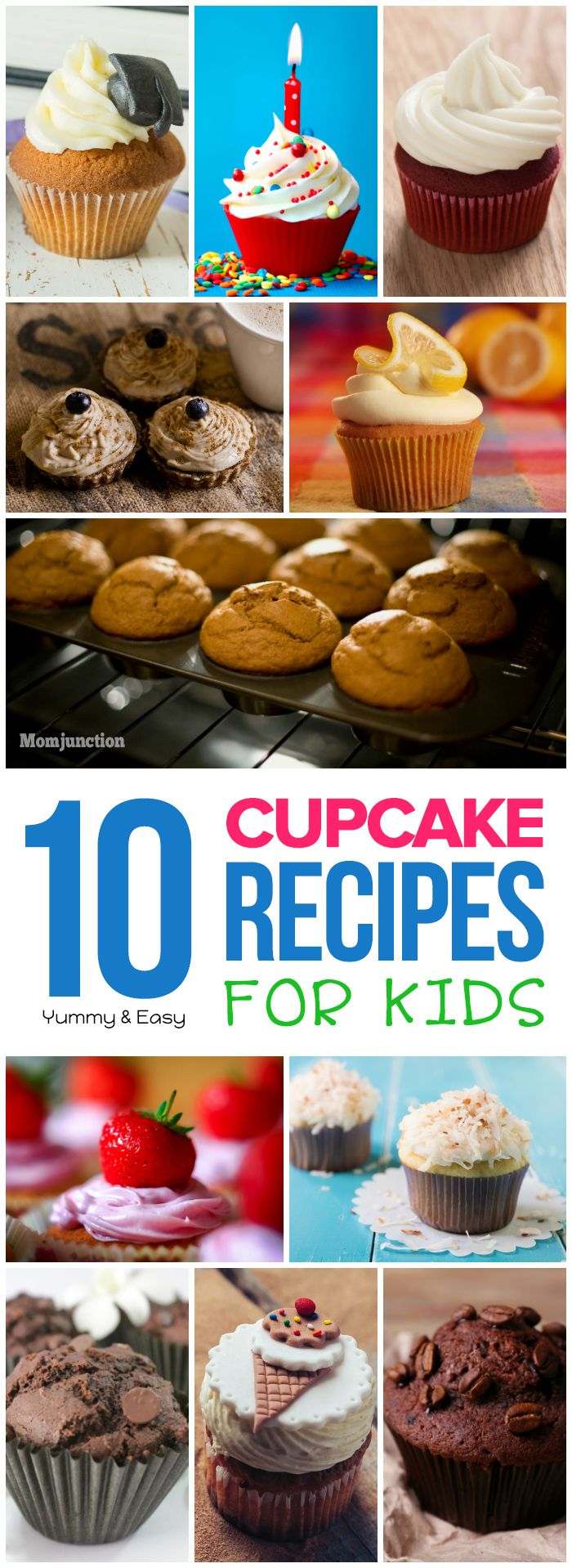 Explore our 19 yummy and easy to bake cup cake recipes for kids. Learn to make chocolate, vegan, fruit and vegetable and holiday cupcakes along with a few decorating ideas!
