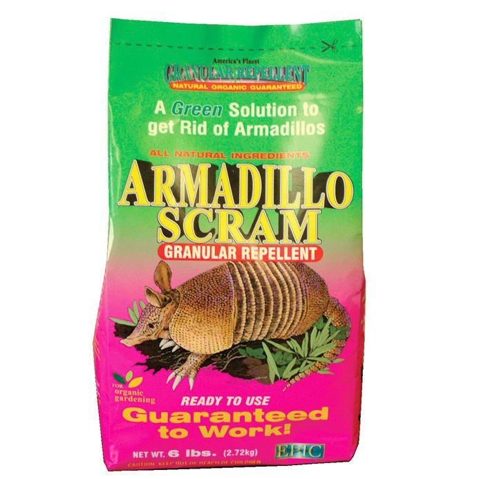 Enviro Pro 00176 6 lbs Armadillo Scram All Natural Organic Granular Repellent | eBay