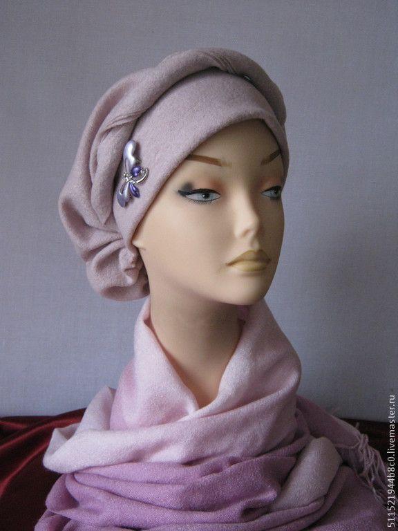 """Купить """"Регина"""" - 02 женский головной убор - народный стиль, весенняя шапочка, большие размеры"""