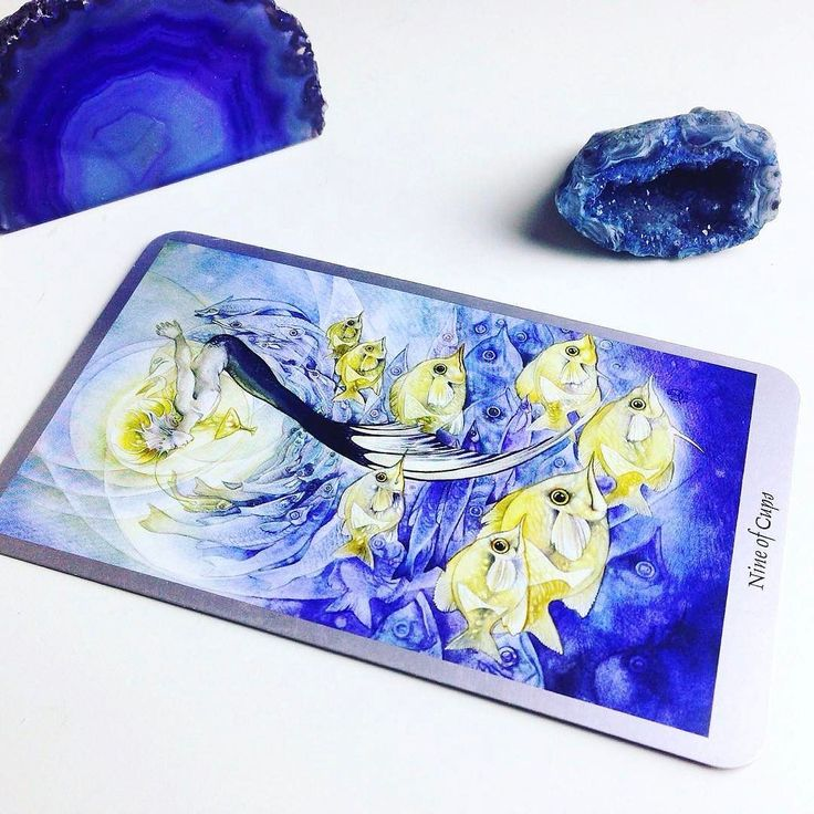 """Daily #Tarot Reading for April 1: Nine of Cups Are you feeling #satisfied with yourself your #achievements or some recent acquisitions? Are you able to sit back and marvel at the #goodthings that you've manifested in life ? When we feel #satisfaction fullness and a sense of #spiritual satiety we bask in the emotional #fulfillment of the Nine of Cups. The Nine of Cups is known among readers as the """"wish card"""" and is a very #happy indicator that we are getting """"what we wish for."""" One word of…"""