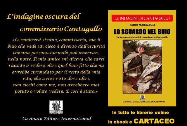 """Fabio Marazzoli: Indagine oscura per il commissario Cantagallo: """"Lo..."""