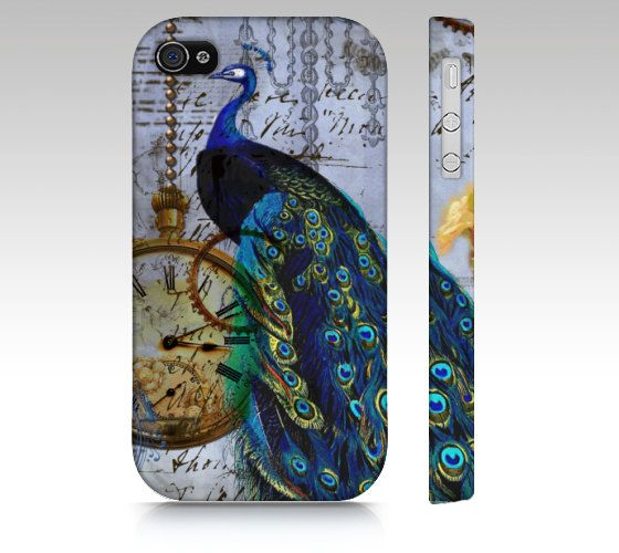 Steampunk Peacock Phone Case iPhone cover case, 4, 4s, 5, 5s, 6  Samsung Galaxy S3, Samsung Galaxy S4, Galaxy s5 ipad 2, 3 4 ipad mini by greerdesign on Etsy