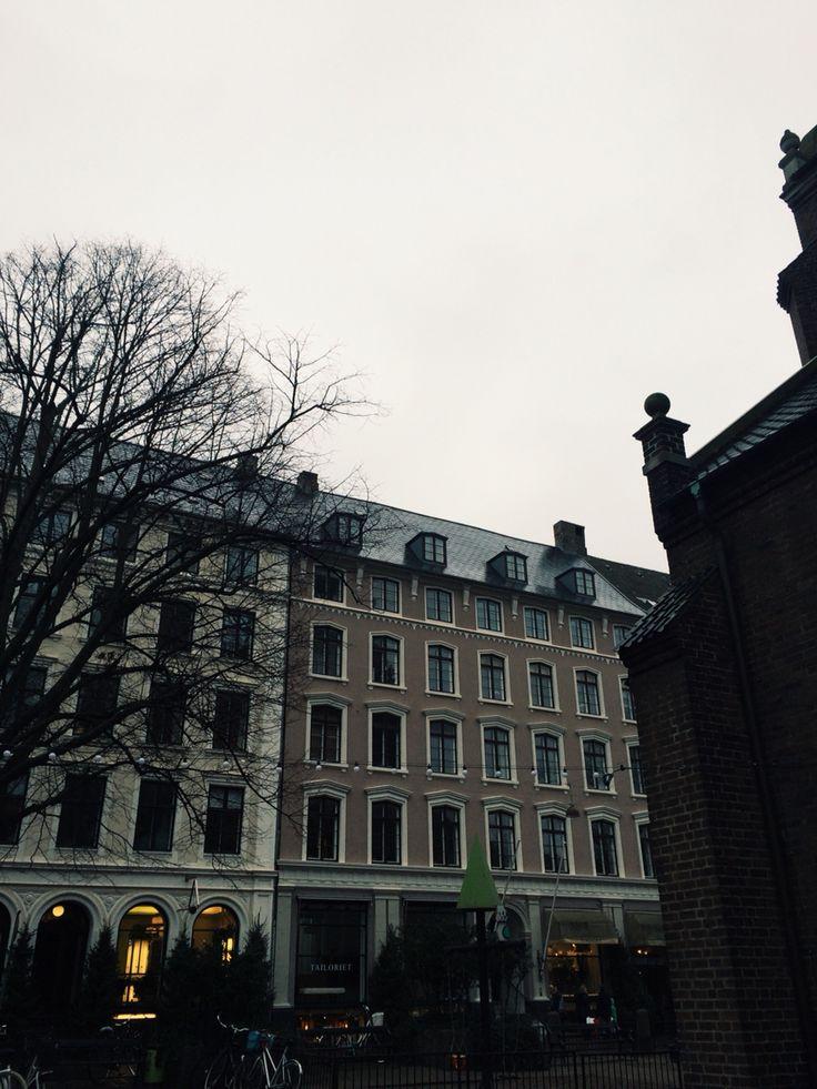 Dull streets in Copenhagen