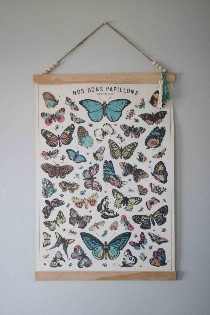 A Great Way To Hang A Poster Like Art DIY - http://www.diyscoop.com/a-great-way-to-hang-a-poster-like-art-diy/
