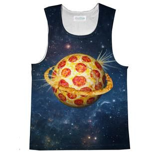Planet Pizza Tank Top