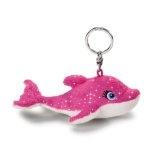 Nici 34693 - Barbie Oceana - Delphin Zuma Schlüsselanhänger, 10 cm