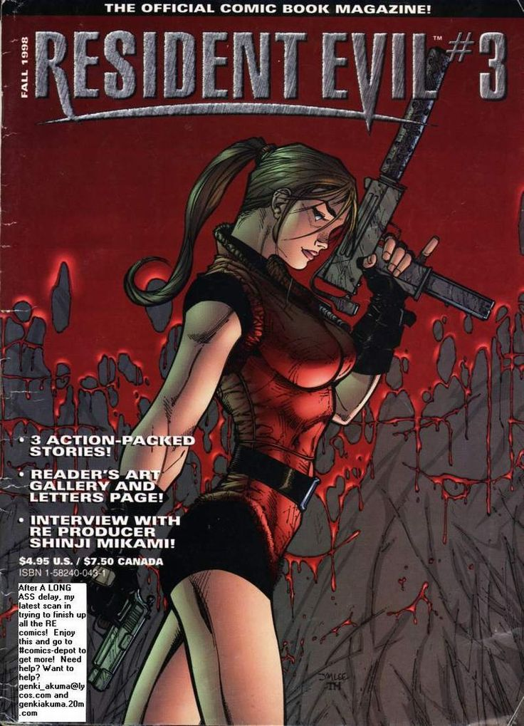 Resident Evil (1998) Issue #3 - Read Resident Evil (1998) Issue #3 comic online in high quality