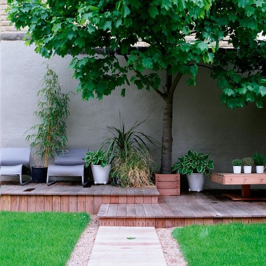 Moderne Stadtgarten