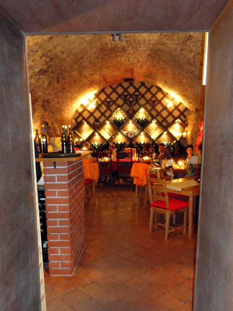 Faust Wine Cellar in Budapest. You won't want to miss it.
