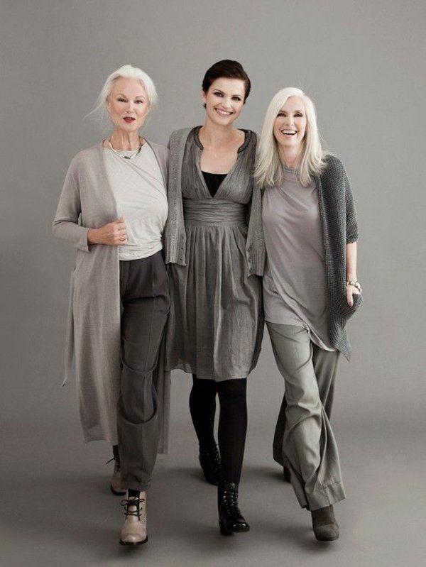 Mode für reifere Damen - hübsch und schick auch mit 50!