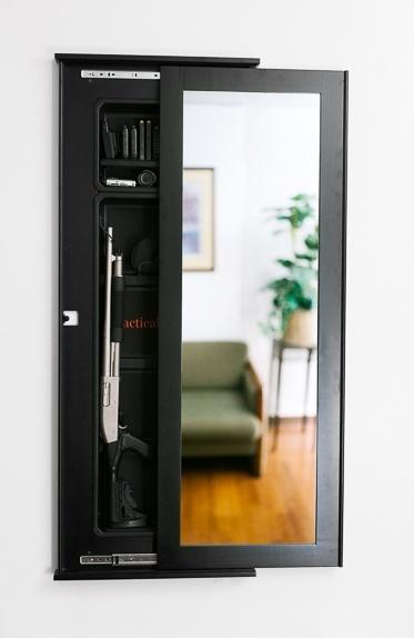 Concealment Sliding Mirror 375 Organization Amp Storage