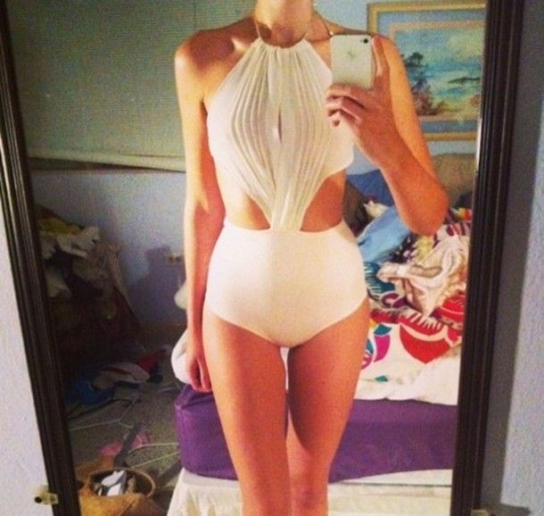 swimwear swimsuit ivory swimsuit white swimsuit cream swimsuit wrap swimsuit one piece swimsuit cut-out swimsuit