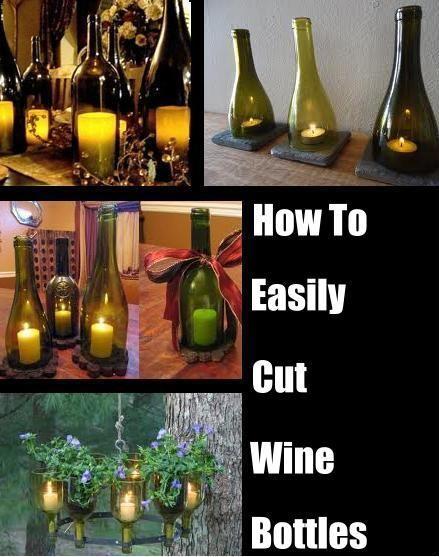 Ideotas para usar botellas cortadas