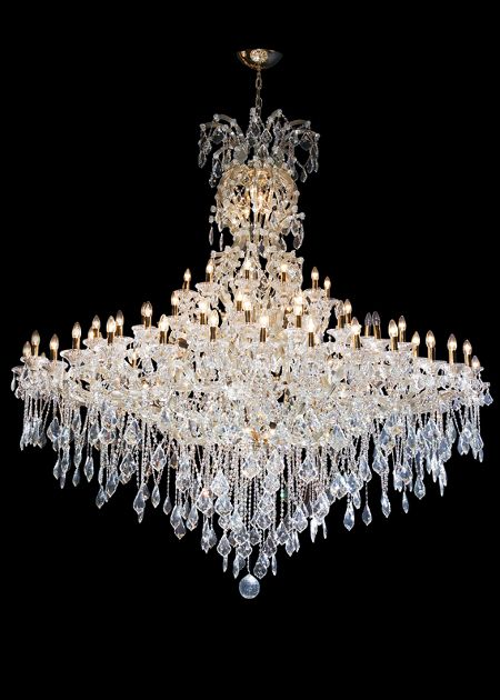 88 Light Bohemian Crystal Chandelier