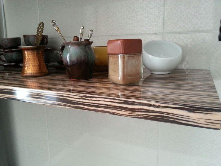 Cool veneer shelf