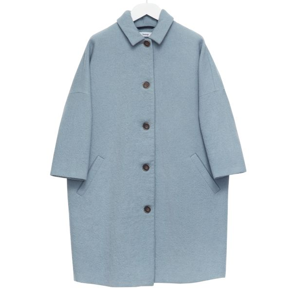 Alp coat, baby blue