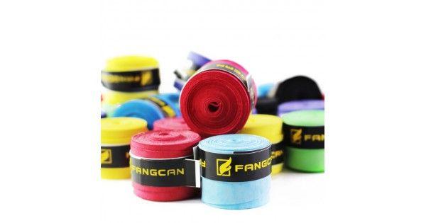 Αντιιδρωτικά Για Τη Λαβή ΡακέταςΠολύ λεπτό grip.Εξαιρετικά απαλή αφήΣτεγνή αίσθηση αφήςΠροδιαγραφές: 1100 X 25 Χ 0,8 χιλιοστάΗ συσκευασία περιλαμβάνει 7 διαφορετικά χρώματα:ΚόκκινοΜπλεΜοβΚίτρινοΜαύροΓαλάζιοΠράσινο