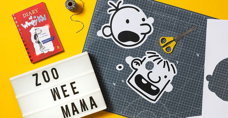 Dress us as Greg Heffley or Rowley Jefferson from Diary of a Wimpy Kid this Halloween with these fun downloadable masks.