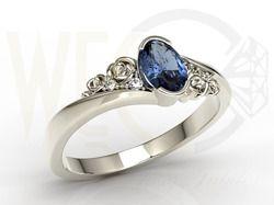 Piękny pierścionek. Mój wymarzony zaręczynowy- Ale od kogo?! :( Mój książę, gdzie jesteś?