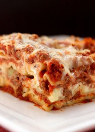 You'll want to save this Best Lasagna Recipe for a classic comfort dish for a cold night in!