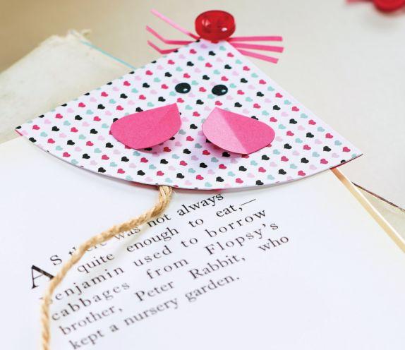 Papercraft Mouse Bookmark - Free Craft Project – Crafts Beautiful Magazine