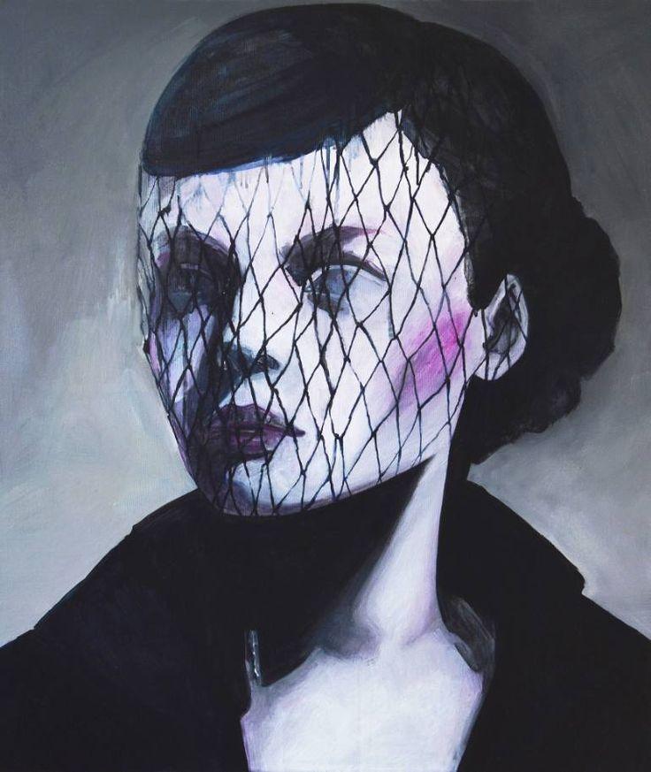 "Saatchi Art Artist Ewa Zwarycz; Painting, ""Celina"" #art"