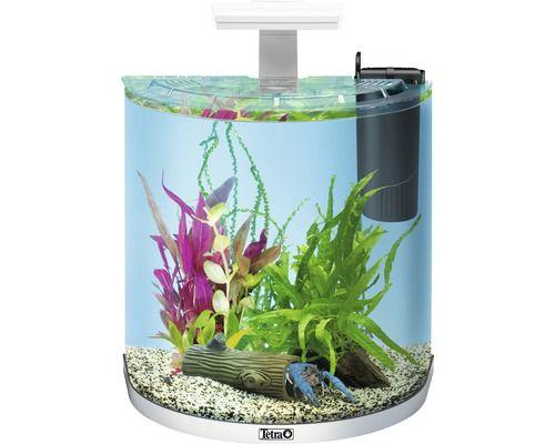 Aquarium Tetra ExplorerLine LED 30 Liter ohne Unterschrank, weiß