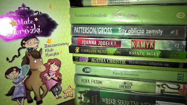 Dzisiaj PIERWSZY dzień miesiąca zatem najlepszy moment na oświadczenie :-) Zatem Kwiecień ustanawiam miesiącem ZIELONYCH książek :-)
