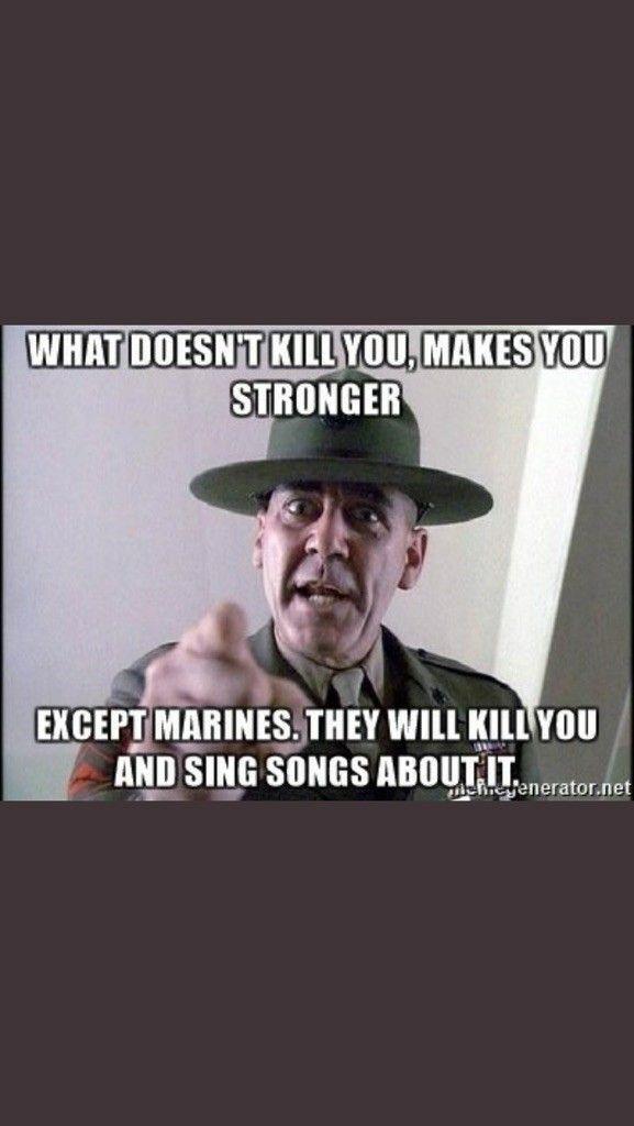 Marine corps the suck