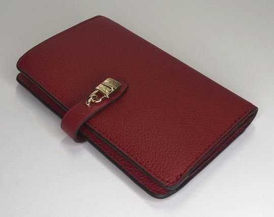 45bd05ce156ec2 Free shipping and guaranteed authenticity on Michael Kors Scarlet Adele Slim  Bifold WalletMICHAEL Michael Kors Adele Slim Bifold Wallet Dur.