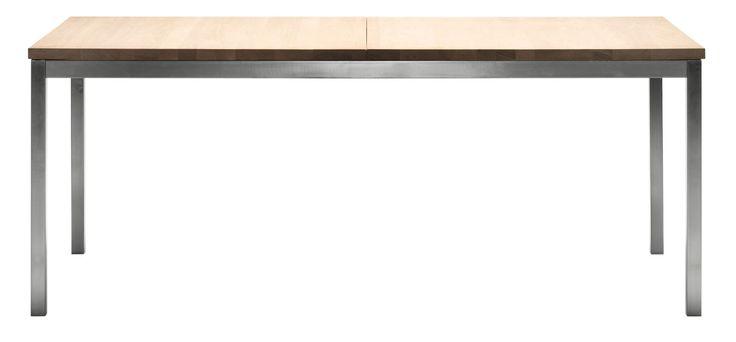 Nordic Spisebord 90x180 - Massiv - Hvitoljet eik - Bolia - 11199,30 NOK