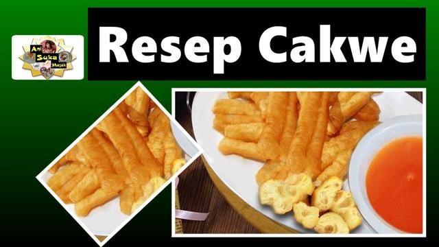 Video Resep Cakwe Goreng Simpel Resep Masakan Resep Masakan