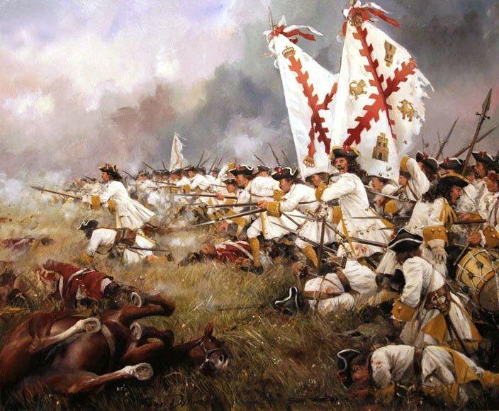 Asturias Regiment (Spanish Infantry - early 18th Century) - Augusto Ferrer-Dalmau